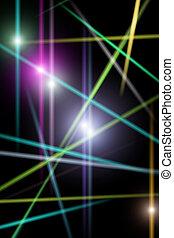 astratto, laser, raggi