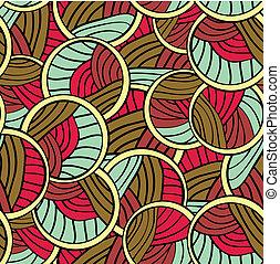 astratto, linee, infinito, seamless, picchiettare