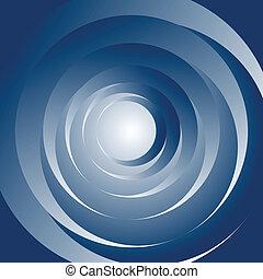 astratto, motion., spirale, fondo