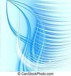 astratto, onda blu
