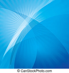astratto, onda blu, fondo