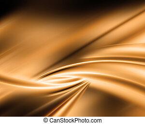 astratto, oro, fondo