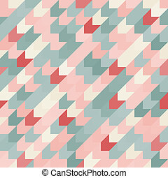 astratto, pattern., seamless, colorito