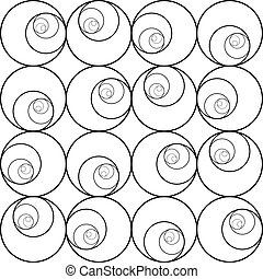 astratto, pattern., seamless, fondo, vector.