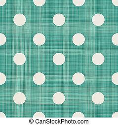 astratto, polka, seamless, retro, fondo, geometrico, puntino