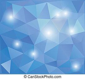 astratto, polygonal, disegno