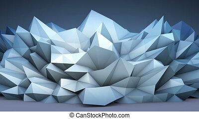 astratto, polygonal, forma