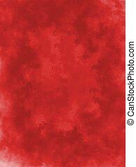 astratto, rosso, e, sfondo nero, con, chiazzato, effetto,...