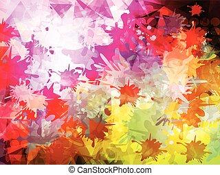 astratto, sfondo colore