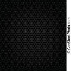 astratto, sfondo nero, metallico