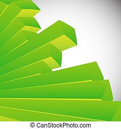 astratto, sfondo verde