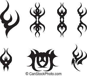 astratto, simboli