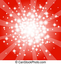 astratto, stella rossa, fondo