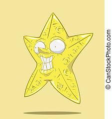 astratto, stella
