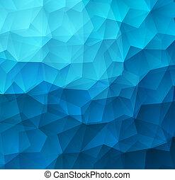 astratto, triangolo, colorito, fondo, geometrico
