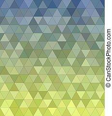 astratto, triangolo, mosaico, fondo