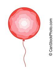 astratto, vettore, disegno, balloon