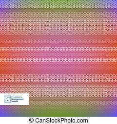 astratto, vettore, pattern., seamless, colorito