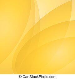 astratto, vettore, sfondo giallo