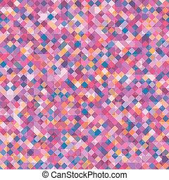 astratto, vettore, squares., fondo, geometrico