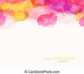 astratto, watercolour, fondo