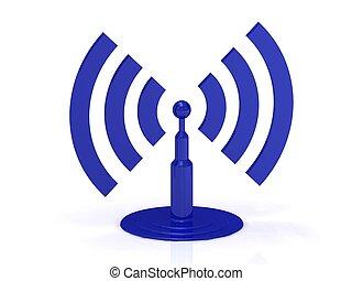 astratto, wi-fi