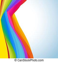 astrazione, fondo, colorfull
