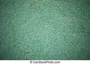 Astro Turf - A green artificial astro turf texture commonly...