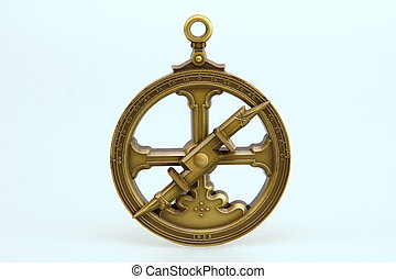 Astrolabe - Replica of an astrolabe, 1555