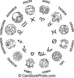 etoile en grec