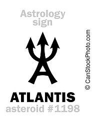 astrology:, 小惑星, atlantis