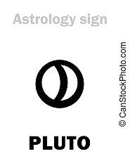 astrology:, 惑星, pluto