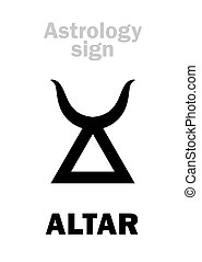 astrology:, altare