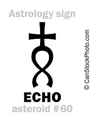 astrology:, asteróide, eco
