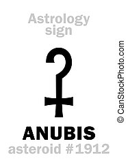 Astrology: asteroid ANUBIS - Astrology Alphabet: ANUBIS...