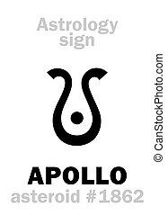 Astrology: asteroid APOLLO