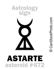 Astrology: asteroid ASTARTE