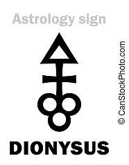 Astrology: asteroid DIONYSUS