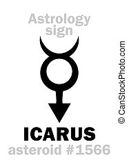 Astrology: asteroid ICARUS