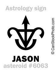 Astrology: asteroid JASON - Astrology Alphabet: JASON,...