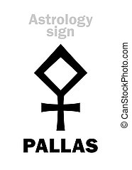 Astrology: asteroid PALLAS - Astrology Alphabet: PALLAS...