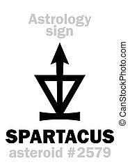 Astrology: asteroid SPARTACUS