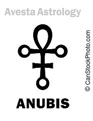 Astrology: astral planet ANUBIS - Astrology Alphabet:...