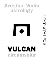 Astrology: astral planet VULCAN