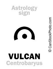 Astrology: circumsolar planet VULCAN