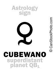 Astrology: CUBEWANO