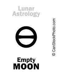 Astrology: Empty MOON