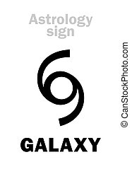 Astrology: GALAXY - Astrology Alphabet: GALAXY, Universal...