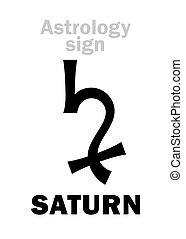 Astrology: planet SATURN