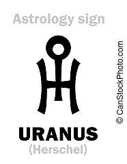 Astrology: planet URANUS - Astrology Alphabet: URANUS...
